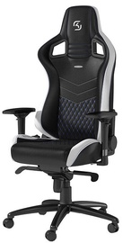 Noblechairs EPIC SK Gaming Edition Black/White/Blue