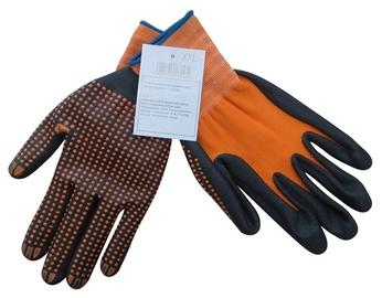 Töökindad oranž-must nr.9
