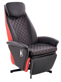 Tugitool Halmar Camaro Black/Red, 77x72x112 cm