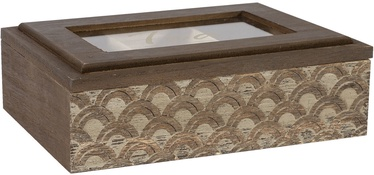 Home4you Tea Box Martha 6x Brown