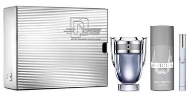 Komplekt meestele Paco Rabanne Invictus 50 ml EDT + 100 ml Shower Gel + 10 ml EDT