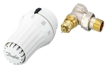 """Radiaatori termoventiil + nurkventiil 1/2"""", Danfoss 013G5093"""