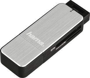 Hama USB 3.0 Card Reader SD/microSD Silver