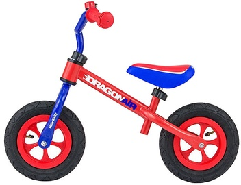 Lastejalgratas Milly Mally Dragon Air Balance Bike Red Blue 2794
