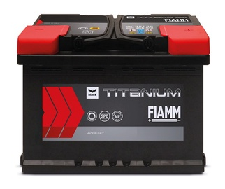 Fiamm Car Battery Black Titanium 55Ah 480A 12V