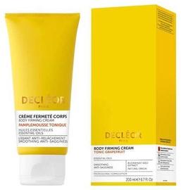 Decleor Body Firming Cream Tonic Grapefruit 200ml