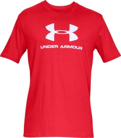 Under Armour Sportstyle Logo Tee 1329590-600 Red XXL
