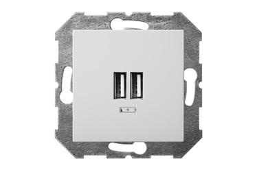 USB-LAADIJA/PESA EPSILON 2-NE 3,4A VALGE