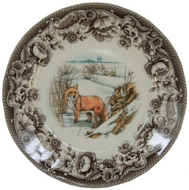 Claytan Haydon Grove Fox Dessert Plate 20.7cm