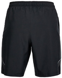 """Under Armour Shorts Woven Graphic 8"""" 1309651-001 Black XS"""