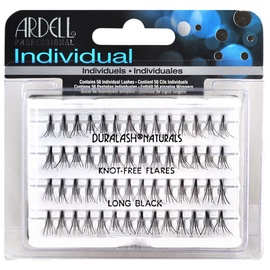 Ardell Double Individuals Knot Free Double Flares Black Long