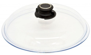 AMT Gastroguss Glass Lid With Knob Ventilation 26cm