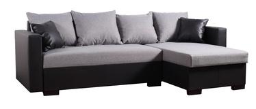 Nurgadiivan Platan Karol 02 Grey/Black, 230 x 140 x 80 cm