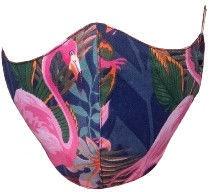 TakeMe Profiled 1-Layer Reusable Face Mask Flamingo