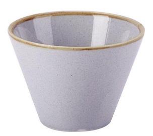 Porland Seasons Conical Bowl D11.5cm Grey