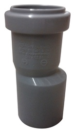 Wavin Pipe Adapter Grey 40/50mm