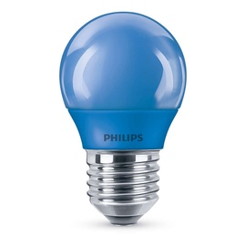Philips LED Bulb P45 E27 3.1W Blue