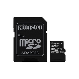 Kingston Canvas Select microSDHC 32GB UHS-I Class 10 + SD Adapter