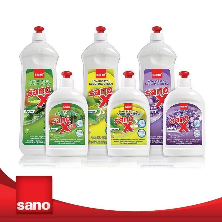 Sano X Scouring Cream Lemon 700ml