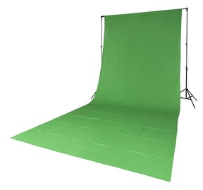 Quadralite Solid Muslin Backdrop 2,85x6m Chroma Green