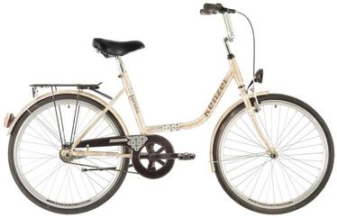 "Jalgratas Kenzel Loreta, liivakarva pruun, 18"", 24"""