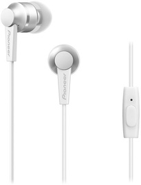 Pioneer SE-C3T In-Ear Earphones White