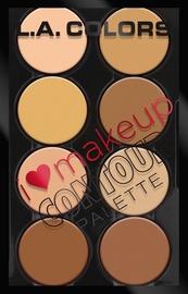 L.A. Colors I Heart Makeup Contour Palette 29g C30353