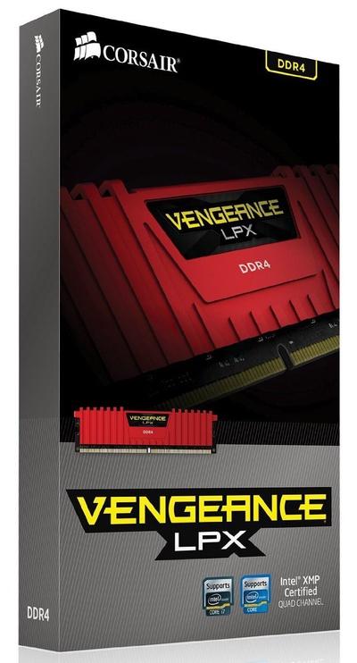 Corsair Vengeance LPX 16GB 2133MHz DDR4 CL13 KIT OF 4 CMK16GX4M4A2133C13R