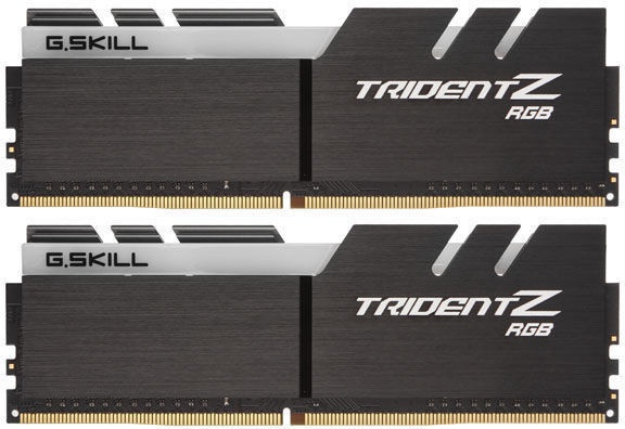 G.SKILL TridentZ RGB 16GB 3200MHz DDR4 KIT OF 2 F4-3200C16D-16GTZR