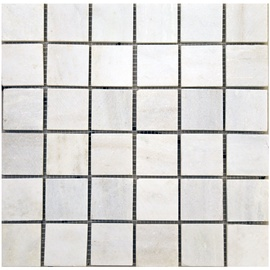 SN Stone Mosaic Cultural Tiles 30.5x30.5cm White