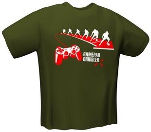 GamersWear Gamepad Dribbler T-Shirt Olive XXL
