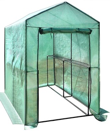 Besk Greenhouse With Shelves 155x140x200cm
