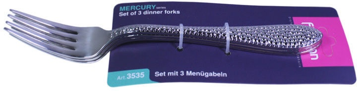 Fissman Mercury Dining Fork Set 3Pcs 3531