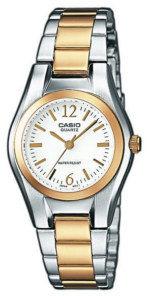 Casio Women's Watch LTP-1280PSG-7AEF Silver Gold