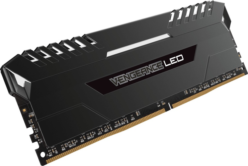 Corsair Vengeance LED 16GB 2666MHz DDR4 CL16 White KIT OF 2 CMU16GX4M2A2666C16