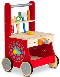 EcoToys Wooden Workshop Of Tools Red