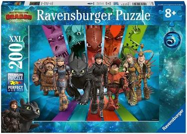 Ravensburger XXL Puzzle Dragon Riders 200pcs