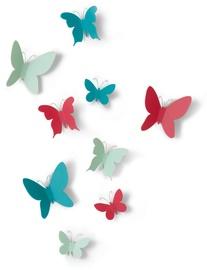 Umbra Mariposa Butterflies Multi 9pcs