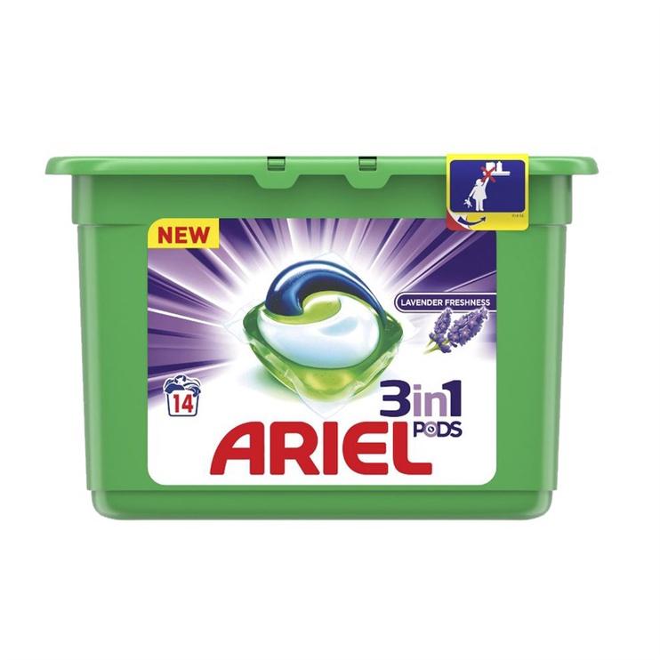 Ariel Liquid Tabs Lavender 14pcs