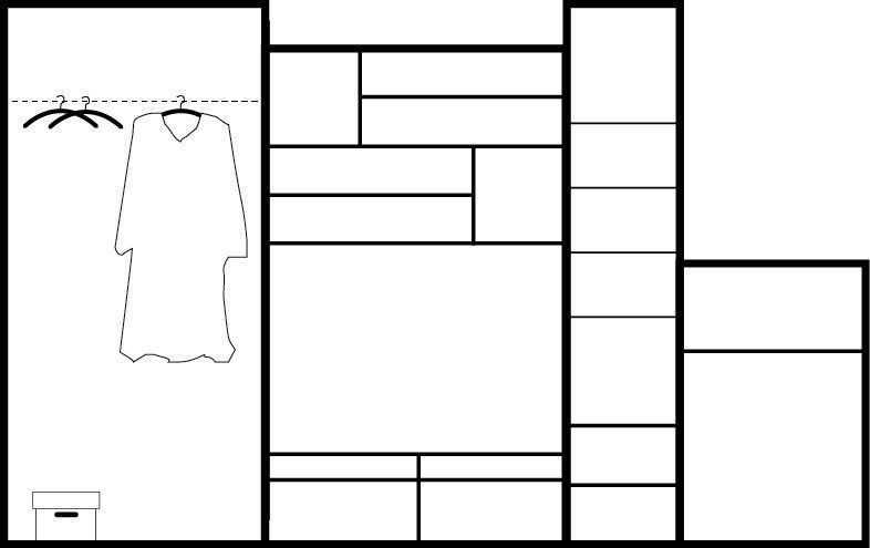 Stolar Wall Unit Orion Wenge