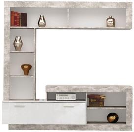 Sektsioonkapp Tuckano Warsaw White, 170x41x170 cm