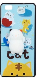 Mocco 4D White Cat Back Case For Samsung Galaxy S8 Blue