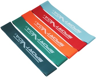 SportVida TRX & Crossfit Resistance Band Multicolor 5pcs