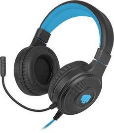 Fury Warhawk RGB Over-Ear Gaming Headphones Black