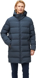 Audimas Mens Puffer Down Coat With Membrane India Ink XL