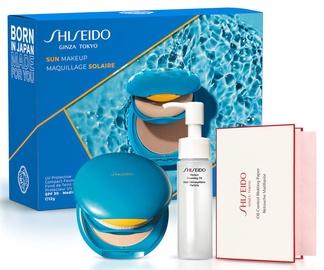 Shiseido Sun Makeup 3pcs Set 12g SPF30 Medium