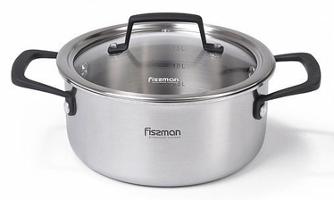 Fissman Loren Casserole With Glass Lid D18cm 2l