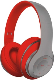 FreeStyle FH0916 Bluetooth Over-Ear Headset Grey/Red