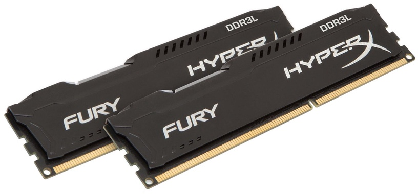 Kingston 16GB 1866MHz DDR3L CL11 HyperX Fury Black KIT OF 2 HX318LC11FBK2/16