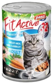 Panzi FitActive Adult Meat Mix & Carrot 415g